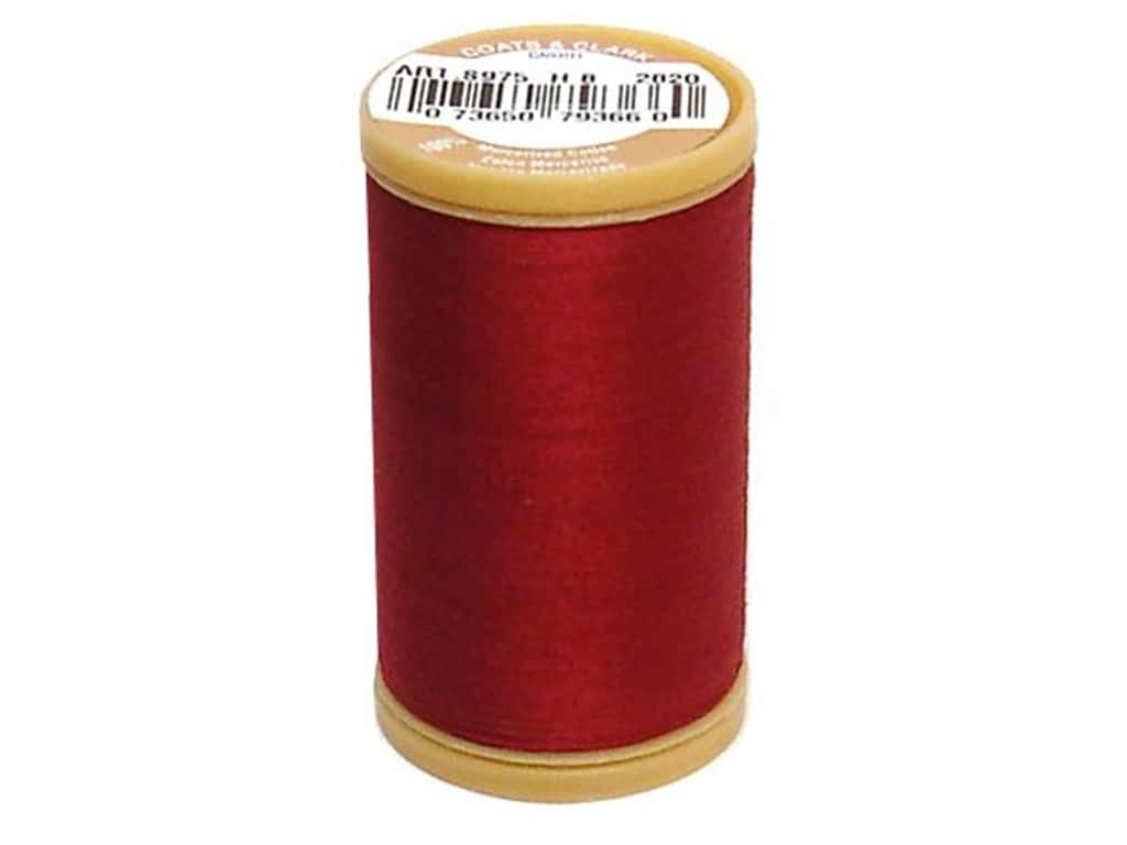 Coats Cotton Machine Quilting Thread #2820 Barberry Red 350 yd.