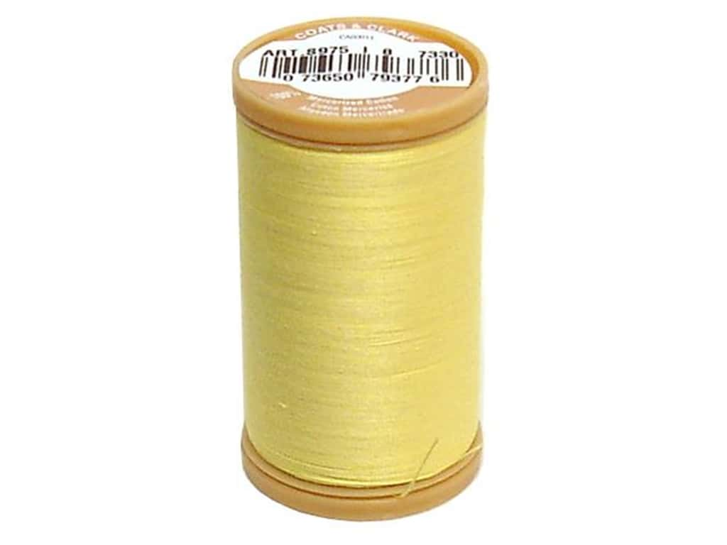 Coats Cotton Machine Quilting Thread #7330 Yellow 350 yd.