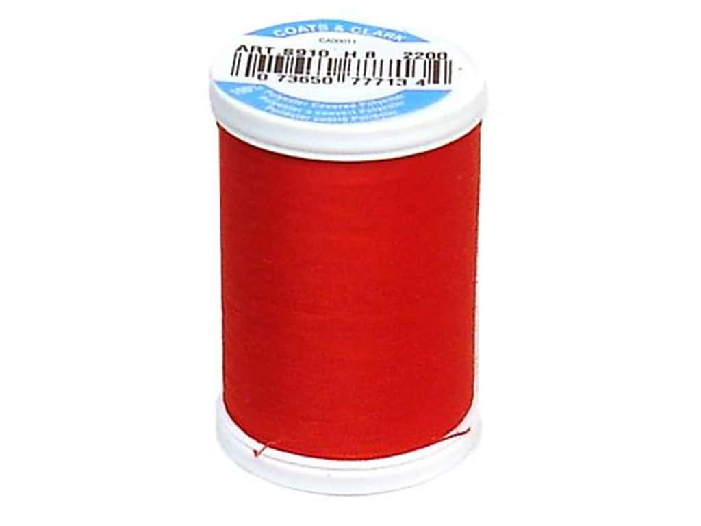 Coats & Clark Dual Duty XP All Purpose Thread 250 yd. #2200 Hero Red