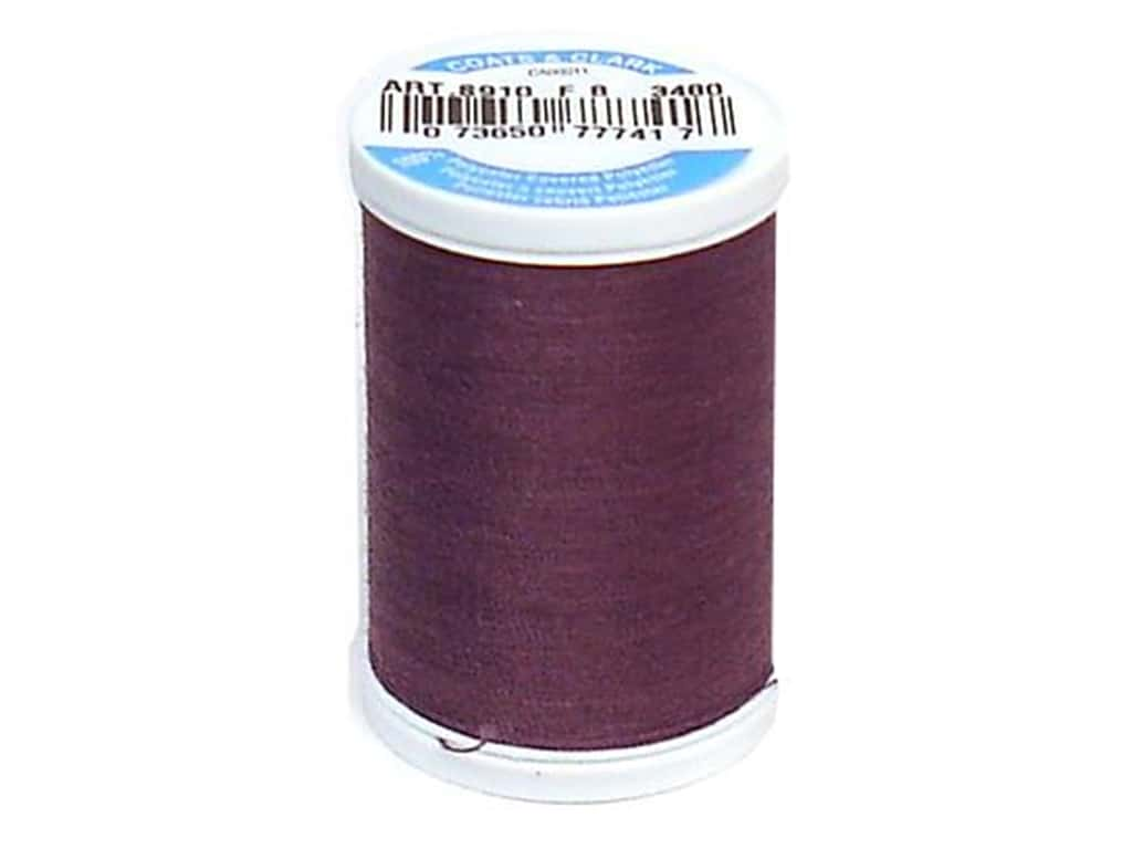 Coats & Clark Dual Duty XP All Purpose Thread 250 yd. #3480 Mulberry Wine