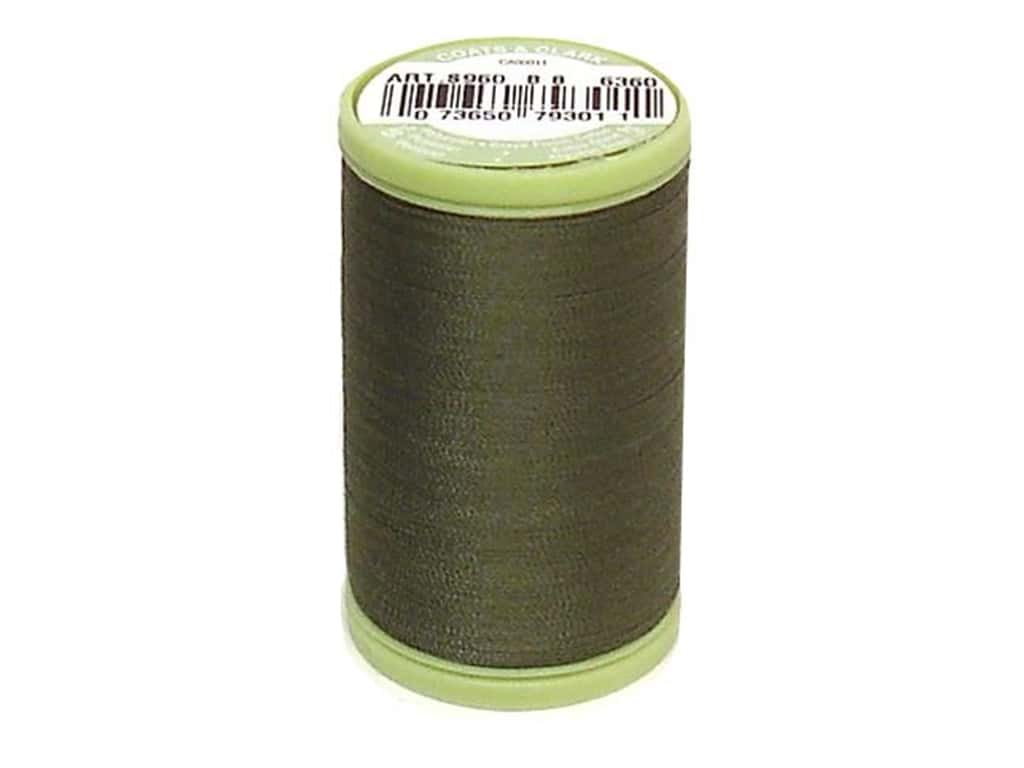 Dual Duty Plus Hand Quilting Thread 325 yd. - #6360 Bronze Green