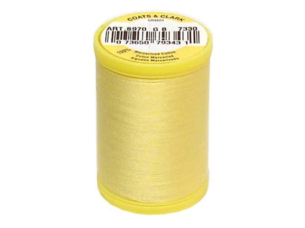 Coats All Purpose Cotton Thread 225 yd. #7330 Yellow