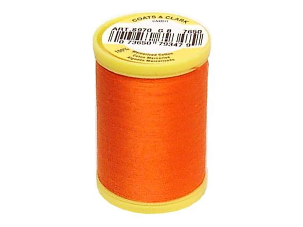 Coats All Purpose Cotton Thread 225 yd. #7650 Tango