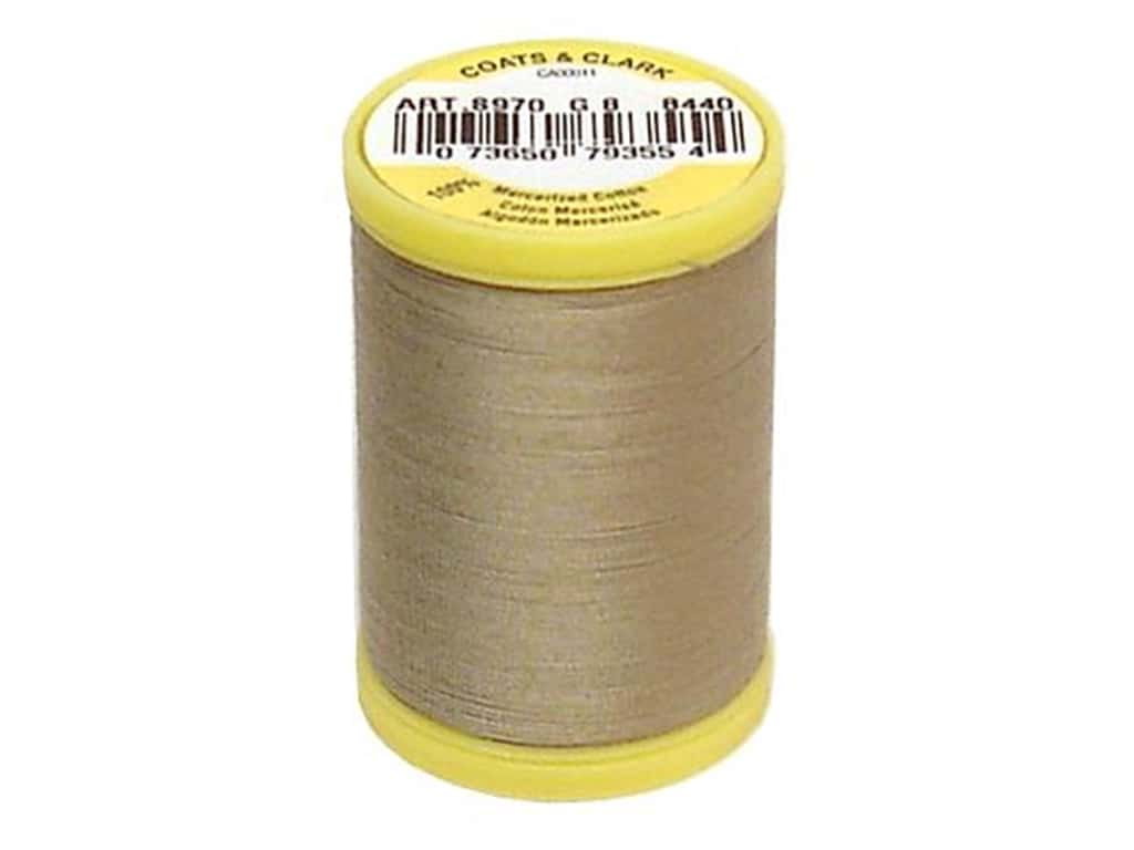 Coats All Purpose Cotton Thread 225 yd. #8440 Khaki