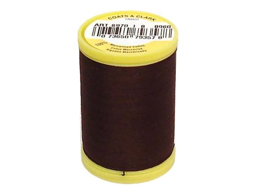 Coats All Purpose Cotton Thread 225 yd. #8960 Chona Brown