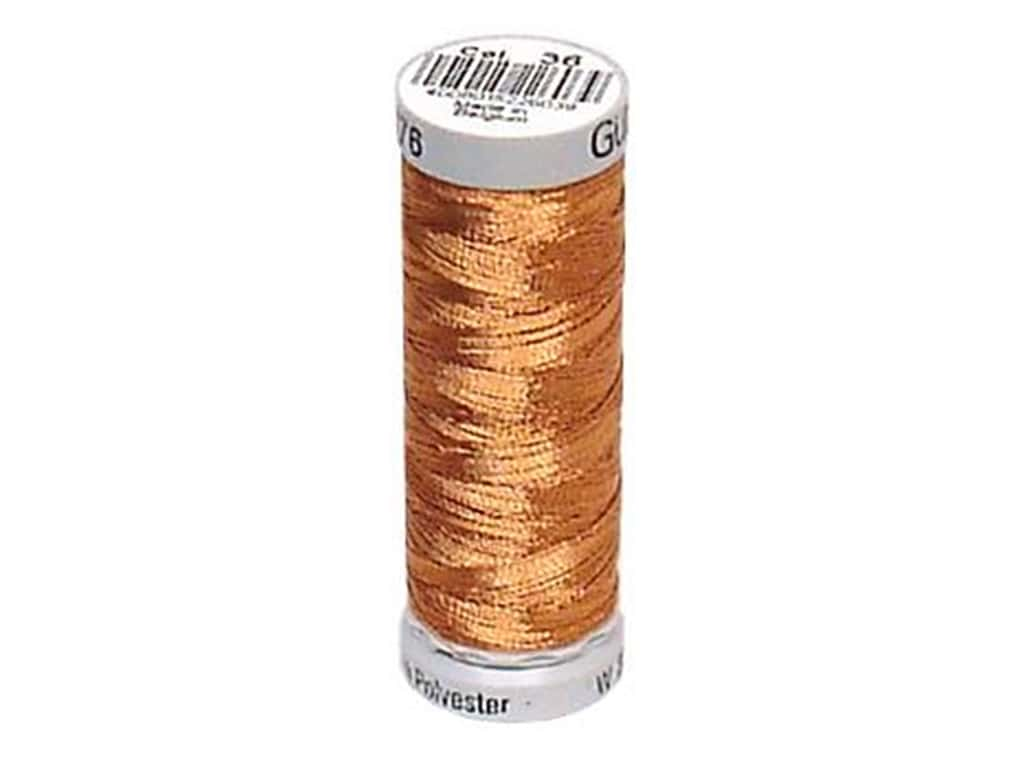 Gutermann Decor Metallic Thread 219 yd. Bronze
