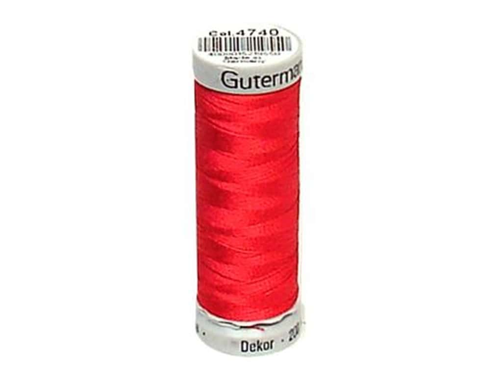 Gutermann Dekor Rayon Embroidery Thread 220 yd. #4740 Hot Pink