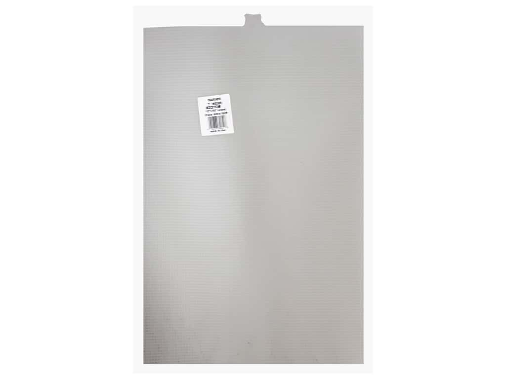 Darice Plastic Canvas #7 Mesh 12 x 18  in. Ultra Stiff Clear (12 sheets)