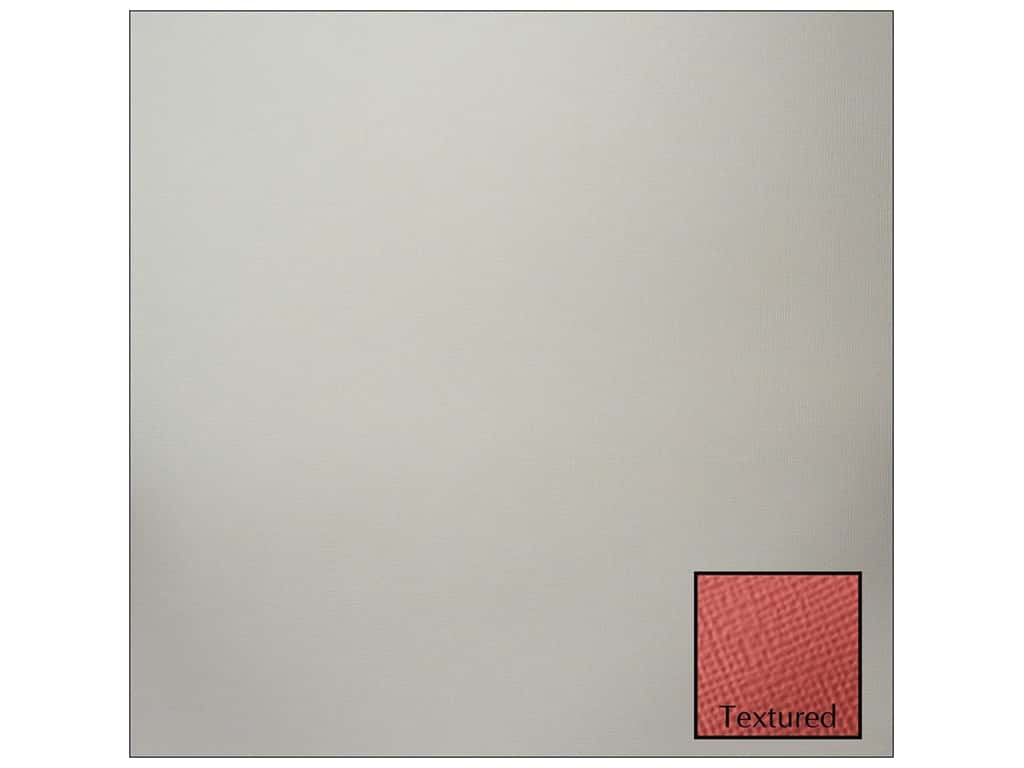 American Crafts 12 x 12 in. Cardstock - Textured Stone (25 sheets)