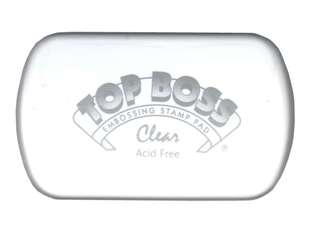 Clearsnap Top Boss Embossing Stamp Pad Full Size Clear