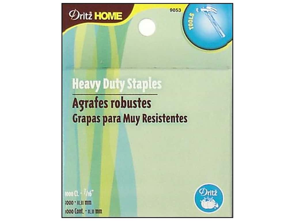Dritz Home Heavy Duty Refill Staples - 7/16 in. 1000 pc.