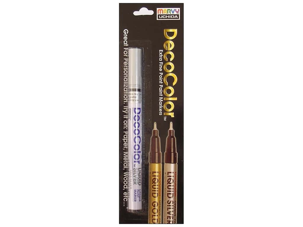 Uchida DecoColor Paint Marker Extra Fine Silver