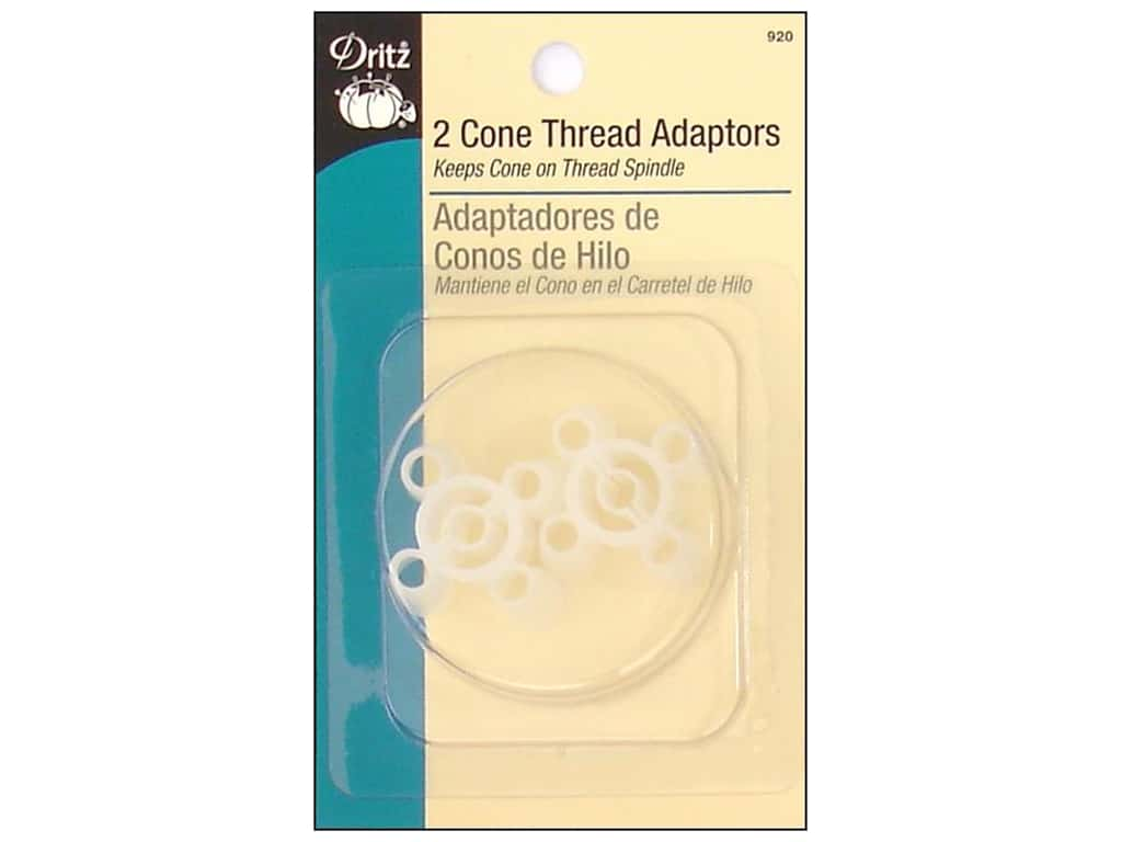 Dritz Cone Thread Adaptors 2 pc.