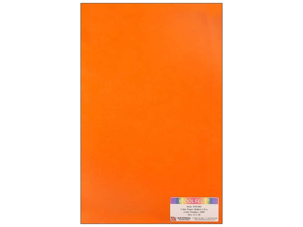 National Nonwovens 35% Wool Felt 12 x 18 in. Hallows Eve (10 sheets)