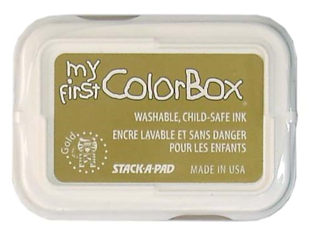 My First ColorBox Dye Ink Pad Gold