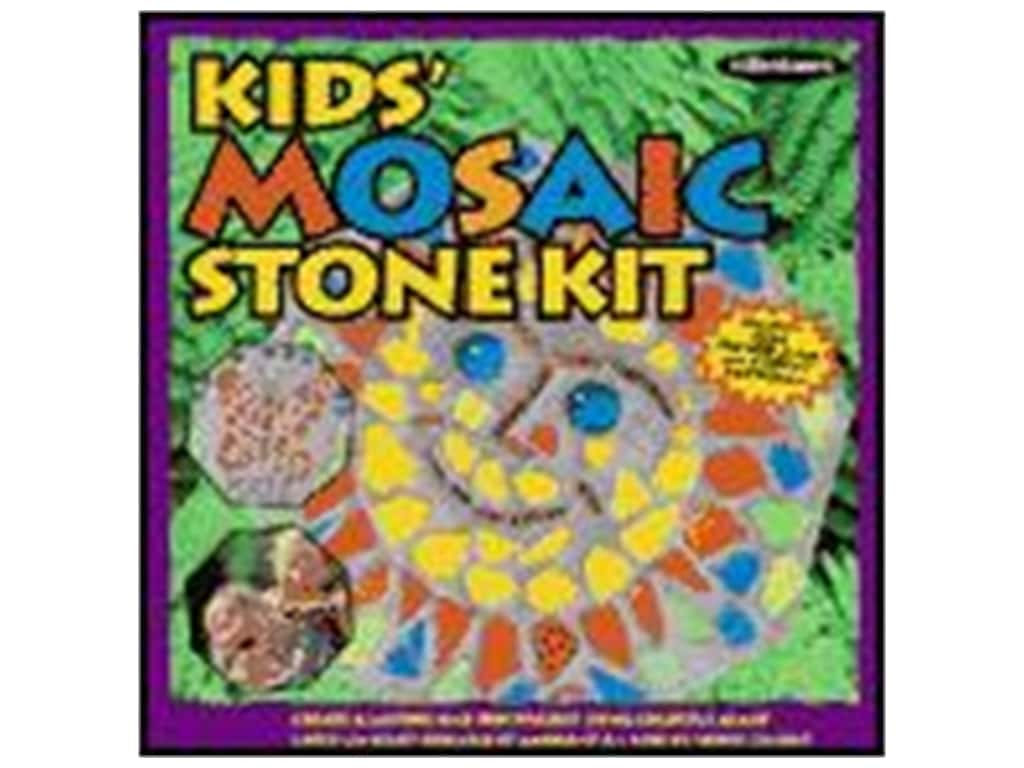 Milestones Stepping Stone Kit 8 in. Kids Octagon Mosaic