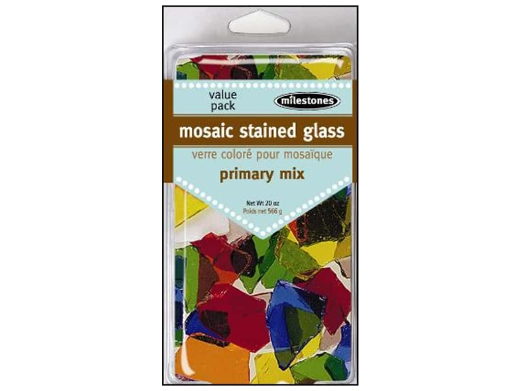 Milestones Mosaic Stained Glass Mix -  Primary Mix