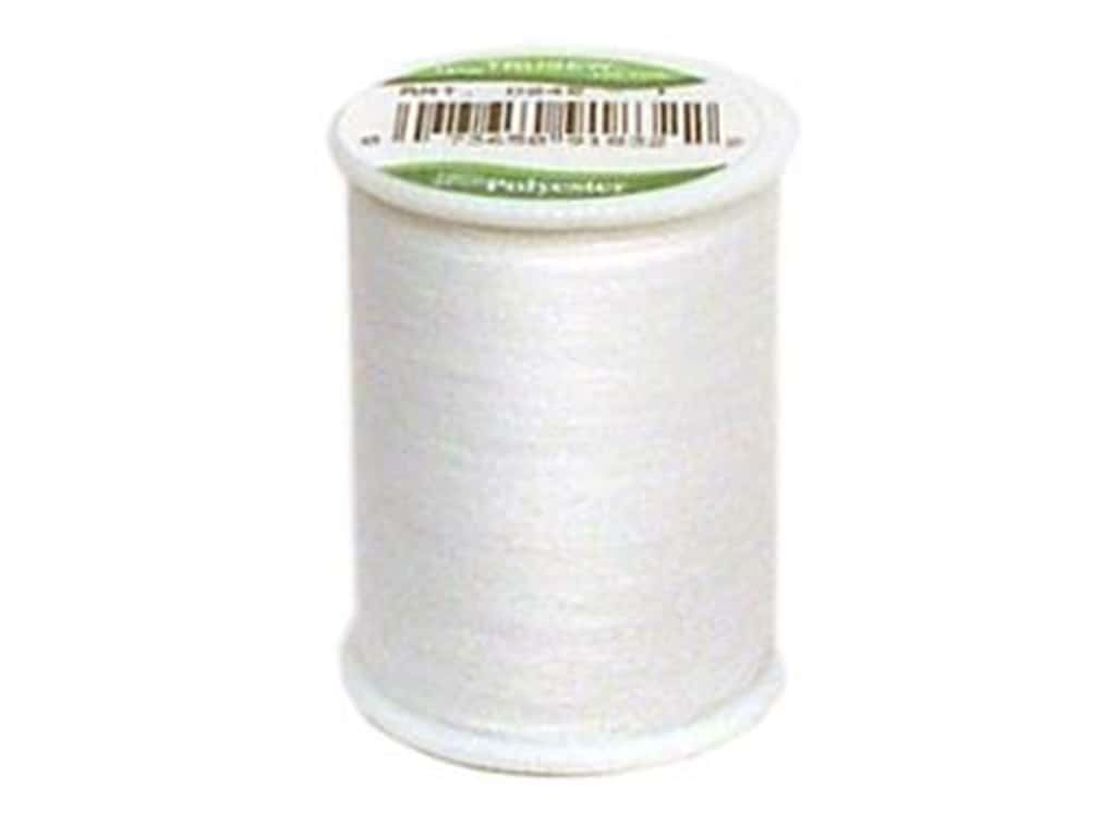 Coat Trusew Polyester Thread 150 yd. White (12 spools)