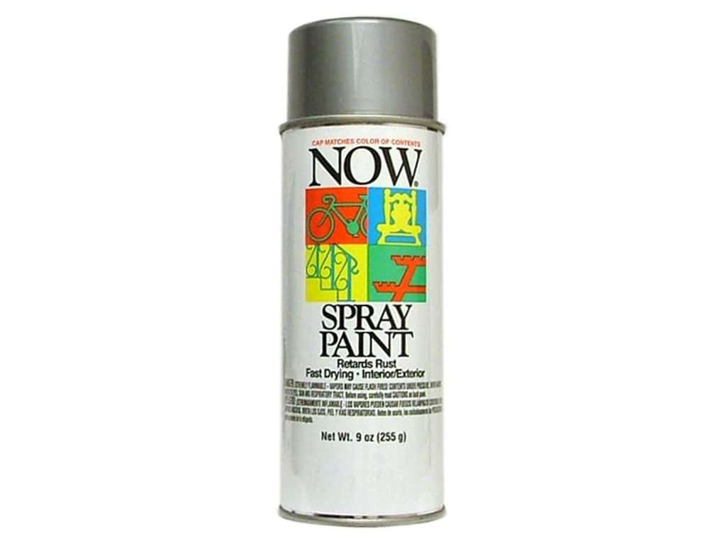 Krylon Now Spray Paint 9 oz. Aluminum