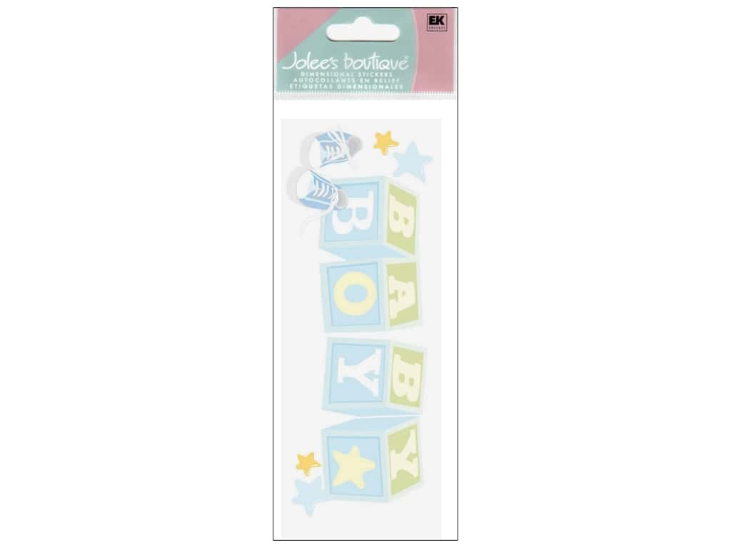 Jolee's Boutique Title Stickers Baby Boy