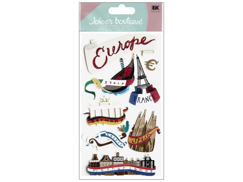 Jolee's Boutique Stickers Large Europe