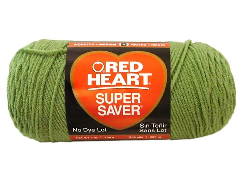 Red Heart Super Saver Yarn 364 yd. #0624 Tea Leaf