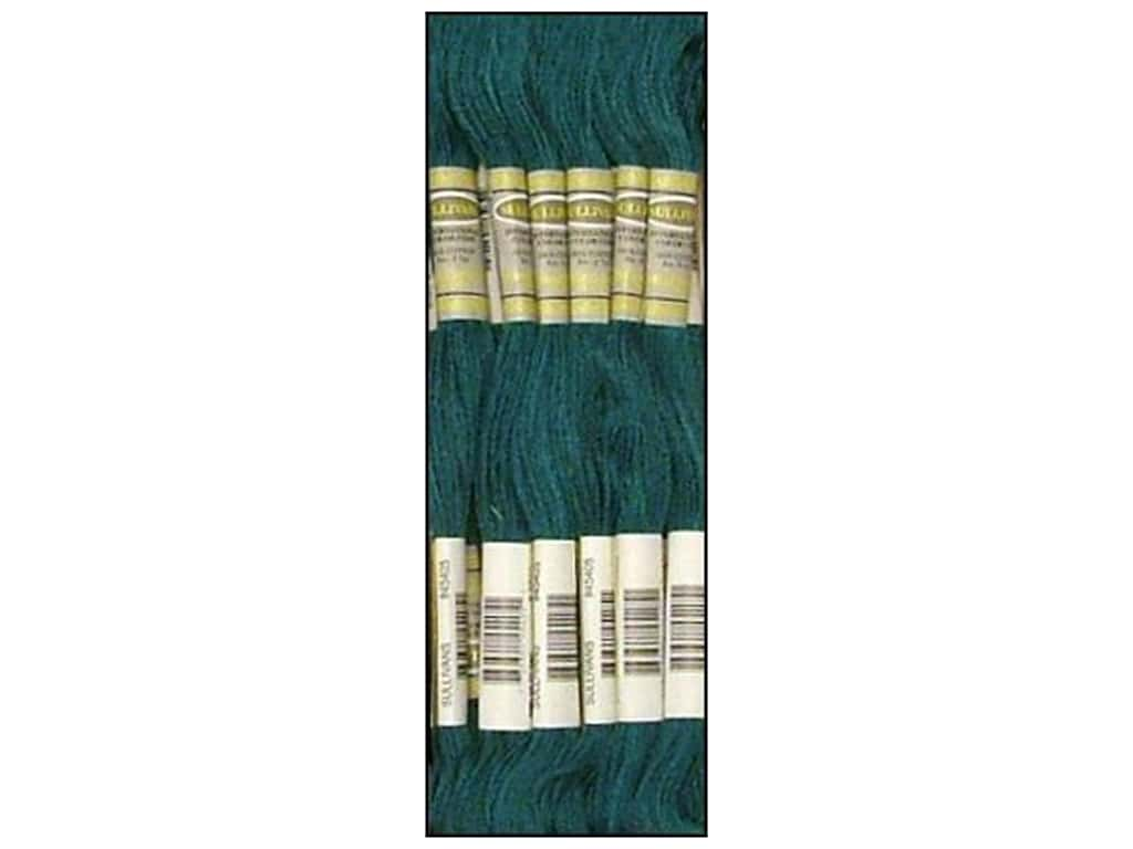 Sullivans Six-Strand Embroidery Floss 8.7 yd. Ultra Very Dark Turquoise (12 skeins)