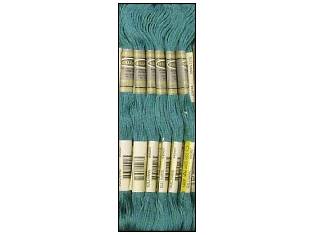 Sullivans Six-Strand Embroidery Floss 8.7 yd. Dark Turquoise (12 skeins)