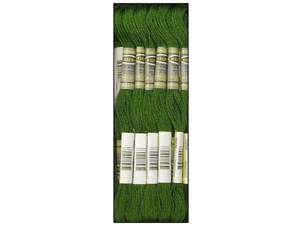 Sullivans Six-Strand Embroidery Floss 8.7 yd. Very Dark Parrot Green (12 skeins)