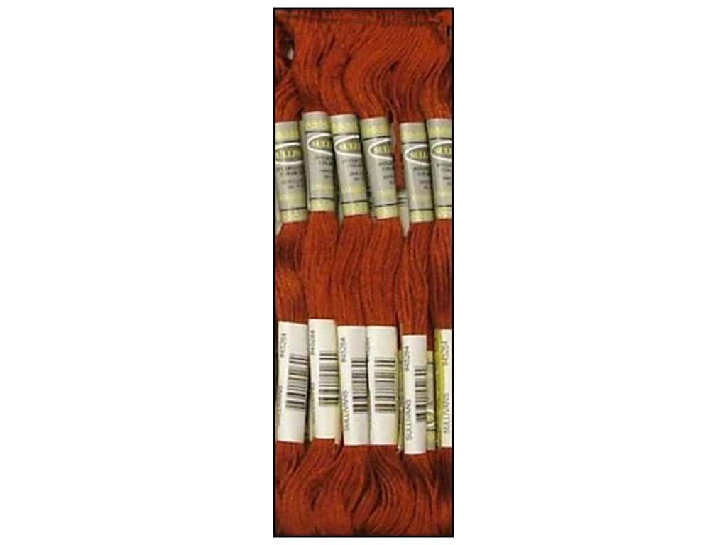 Sullivans Six-Strand Embroidery Floss 8.7 yd. Dark Red Copper (12 skeins)