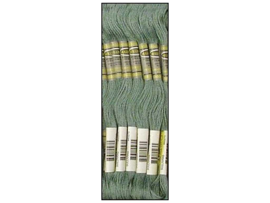 Sullivans Six-Strand Embroidery Floss 8.7 yd. Medium Grey Green (12 skeins)