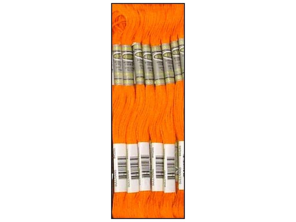 Sullivans Six-Strand Embroidery Floss 8.7 yd. Burnt Orange (12 skeins)
