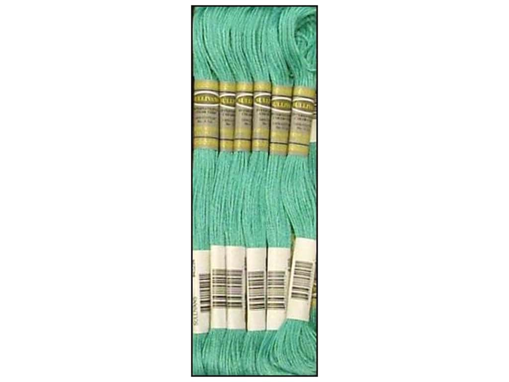 Sullivans Six-Strand Embroidery Floss 8.7 yd. Medium Sea Green (12 skeins)