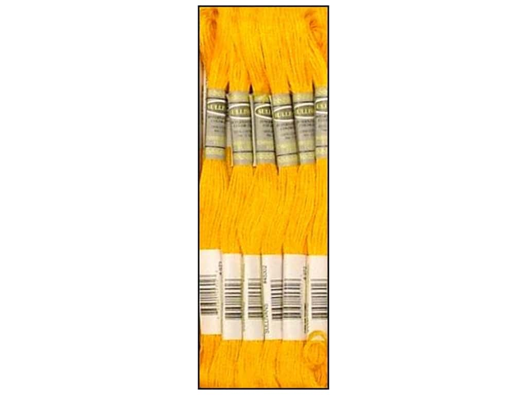 Sullivans Six-Strand Embroidery Floss 8.7 yd. Deep Canary (12 skeins)
