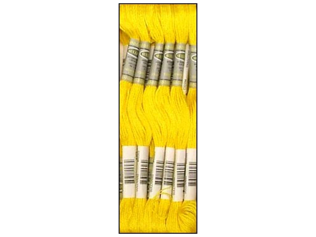 Sullivans Six-Strand Embroidery Floss - Bright Canary 8.7 yd. (12 skeins)