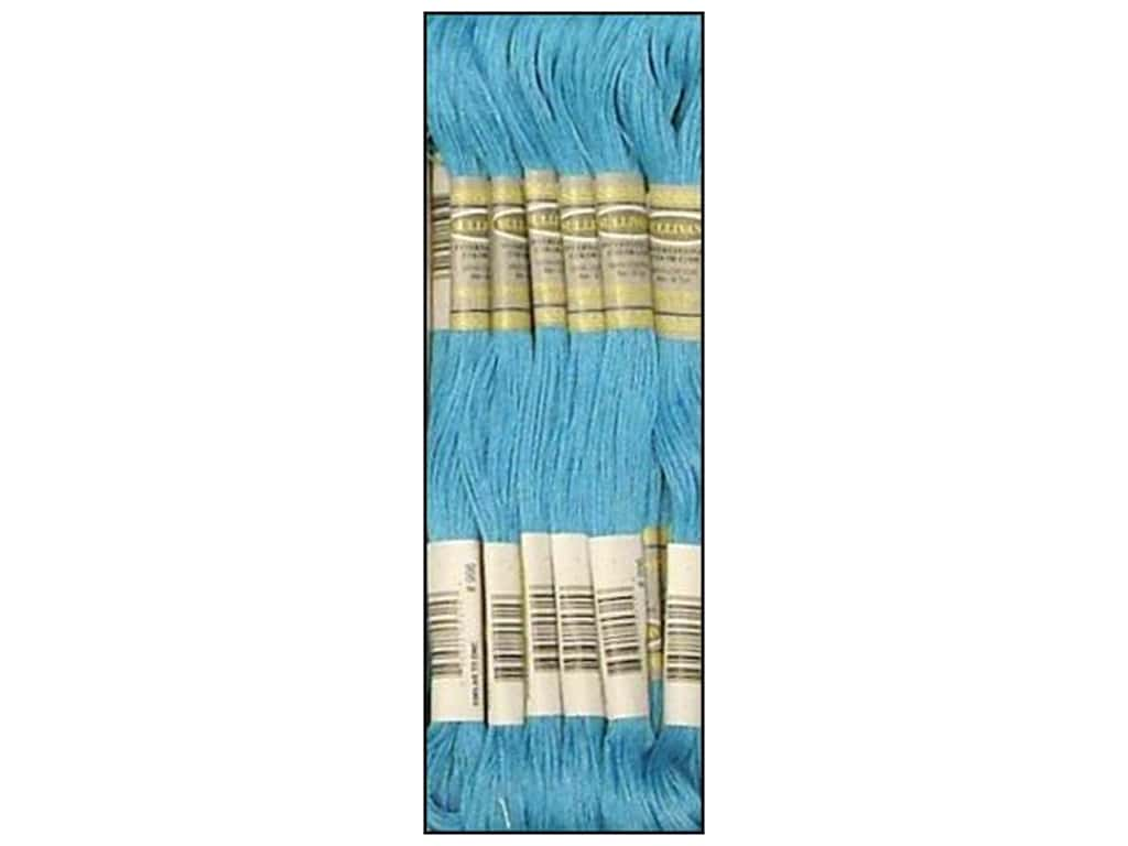 Sullivans Six-Strand Embroidery Floss 8.7 yd. Medium Electric Blue (12 skeins)