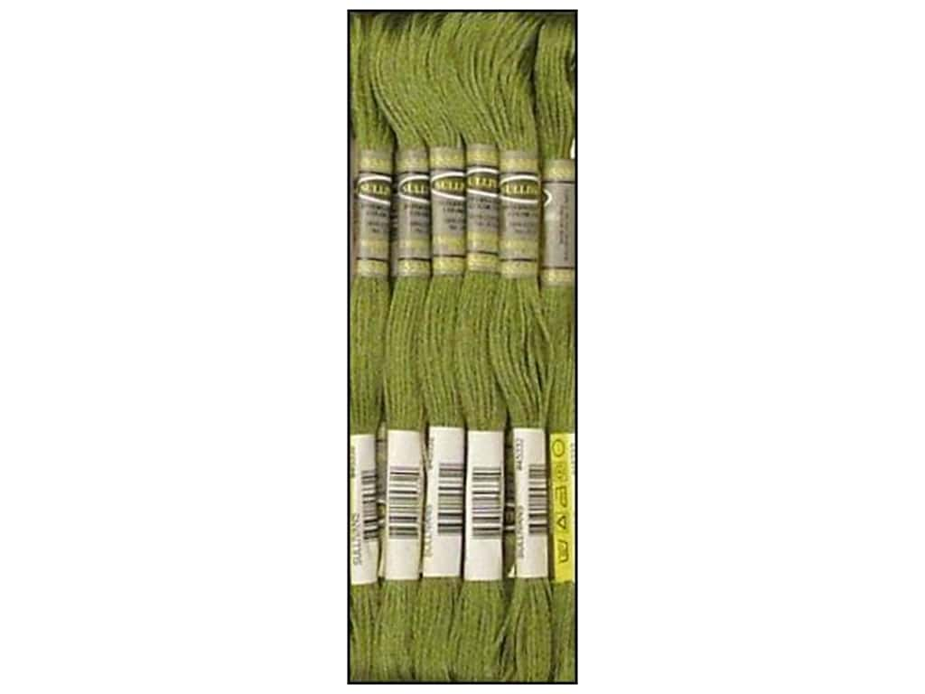 Sullivans Six-Strand Embroidery Floss 8.7 yd. Medium Green Grey (12 skeins)