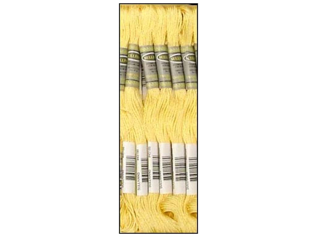 Sullivans Six-Strand Embroidery Floss - Light Pale Yellow 8.7 yd. (12 skeins)