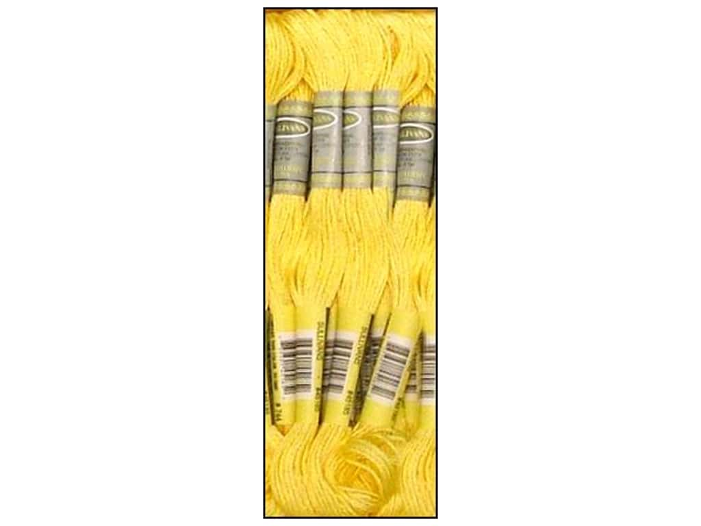 Sullivans Six-Strand Embroidery Floss 8.7 yd. Pale Yellow (12 skeins)
