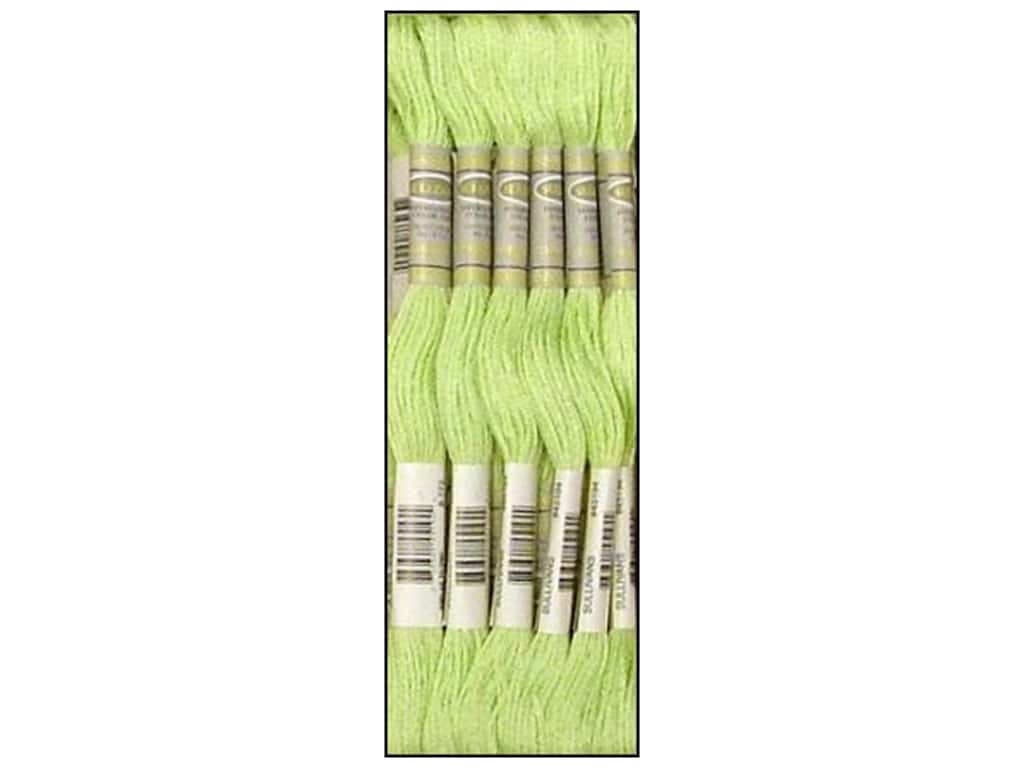 Sullivans Six-Strand Embroidery Floss 8.7 yd. Very Light Yellow Green (12 skeins)