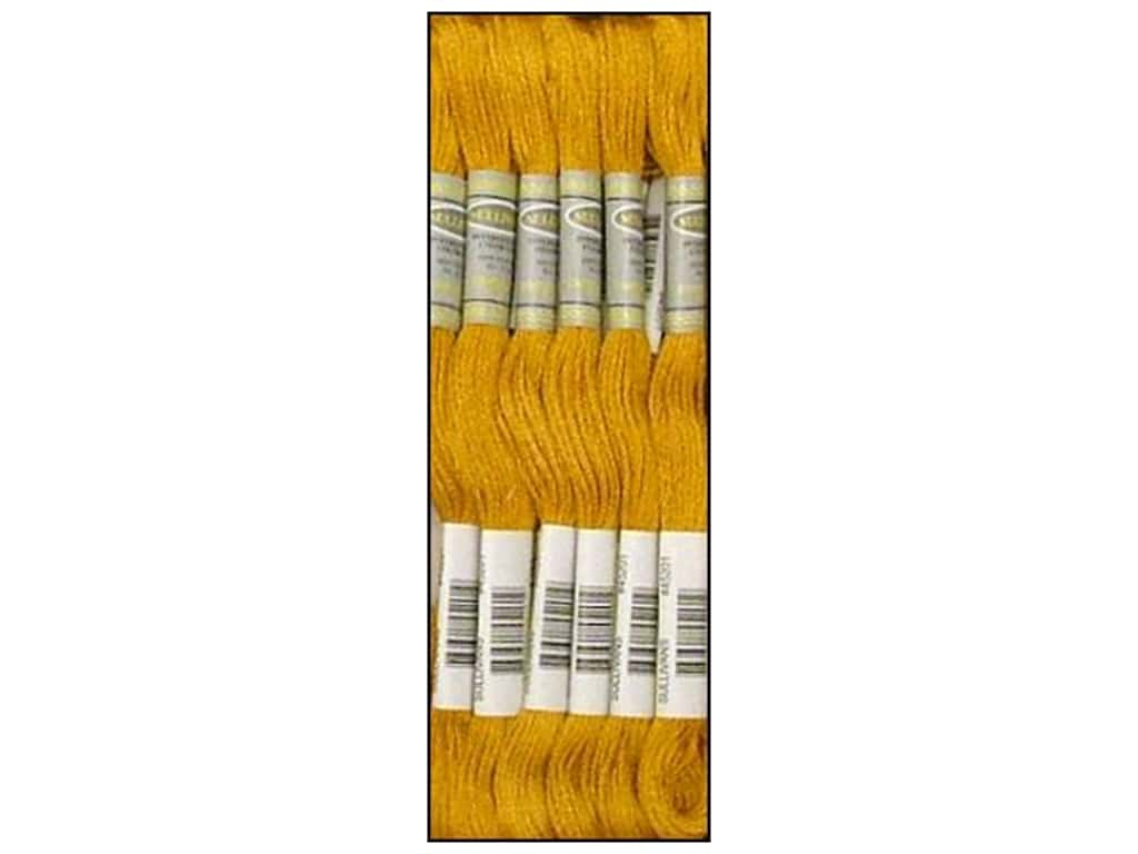 Sullivans Six-Strand Embroidery Floss 8.7 yd. Medium Topaz (12 skeins)