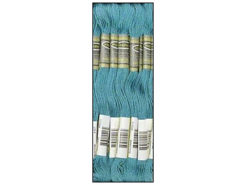 Sullivans Six-Strand Embroidery Floss - Peacock Blue 8.7 yd. (12 skeins)