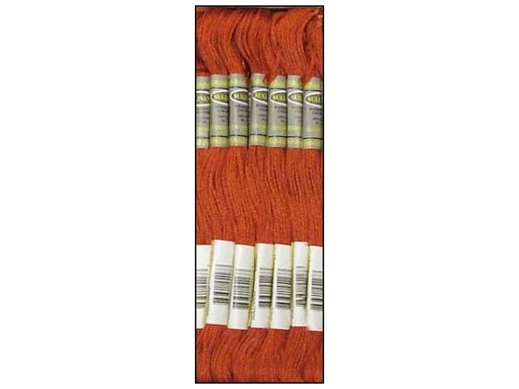 Sullivans Six-Strand Embroidery Floss 8.7 yd. Terra Cotta (12 skeins)