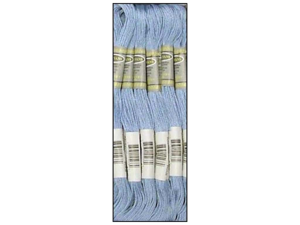Sullivans Six-Strand Embroidery Floss 8.7 yd. Light Lavender Blue (12 skeins)