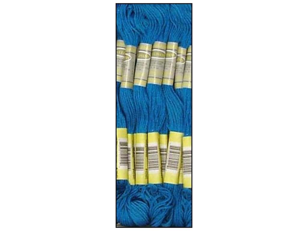 Sullivans Six-Strand Embroidery Floss - Electric Blue 8.7 yd. (12 skeins)