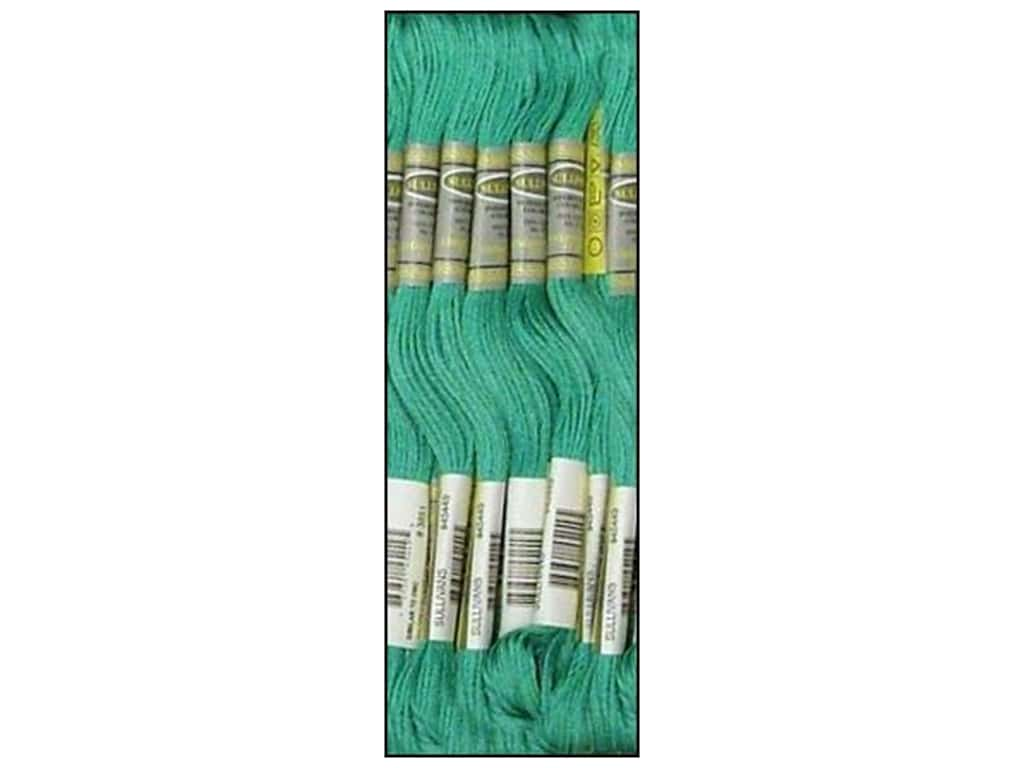 Sullivans Six-Strand Embroidery Floss 8.7 yd. Light Bright Green (12 skeins)
