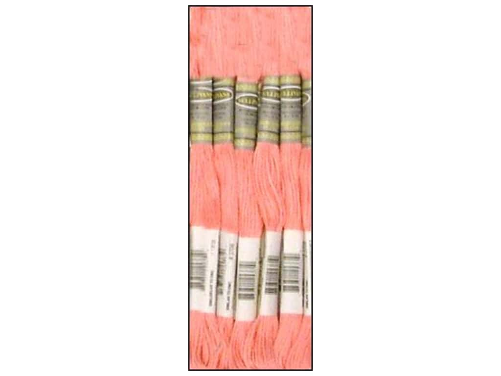 Sullivans Six-Strand Embroidery Floss 8.7 yd. Light Melon (12 skeins)