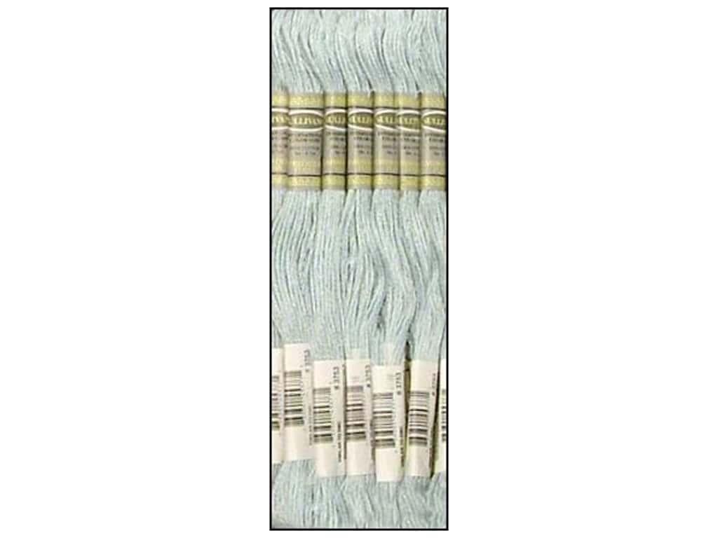 Sullivans Six-Strand Embroidery Floss 8.7 yd. Ultra Very Light Antique Blue (12 skeins)