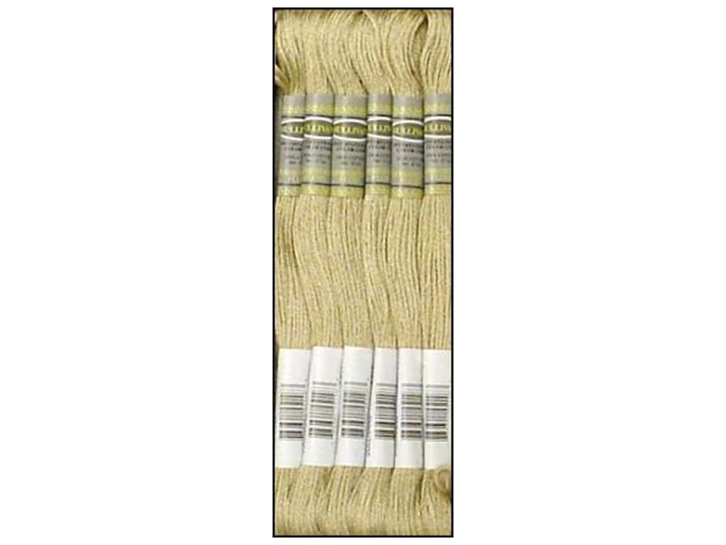 Sullivans Six-Strand Embroidery Floss 8.7 yd. Very Light Drab Brown (12 skeins)