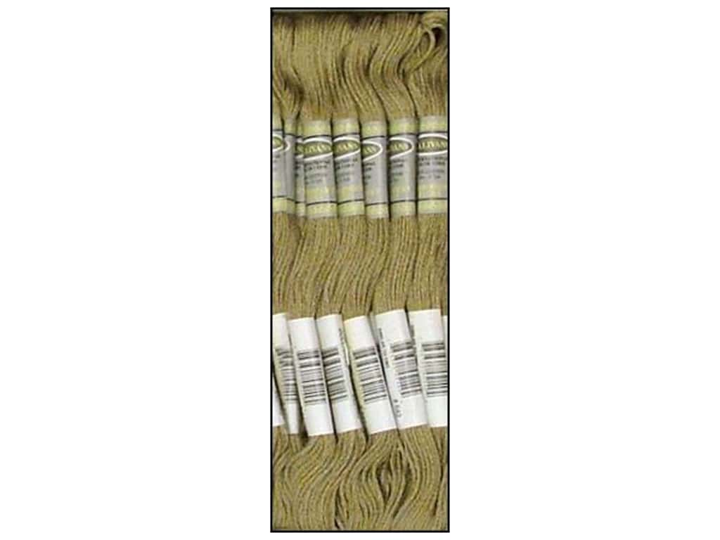 Sullivans Six-Strand Embroidery Floss 8.7 yd. Dark Beige Grey (12 skeins)